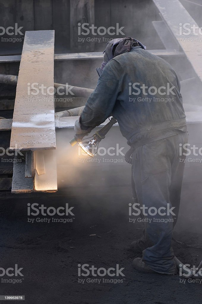 dirty work royalty-free stock photo