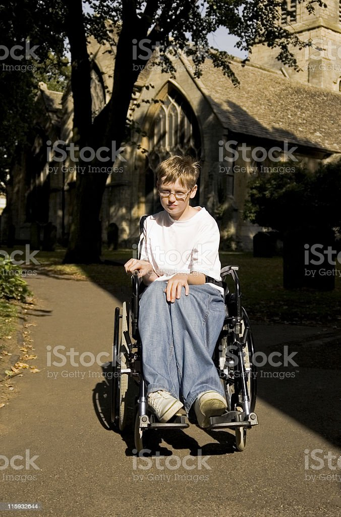 Disability. royalty-free stock photo