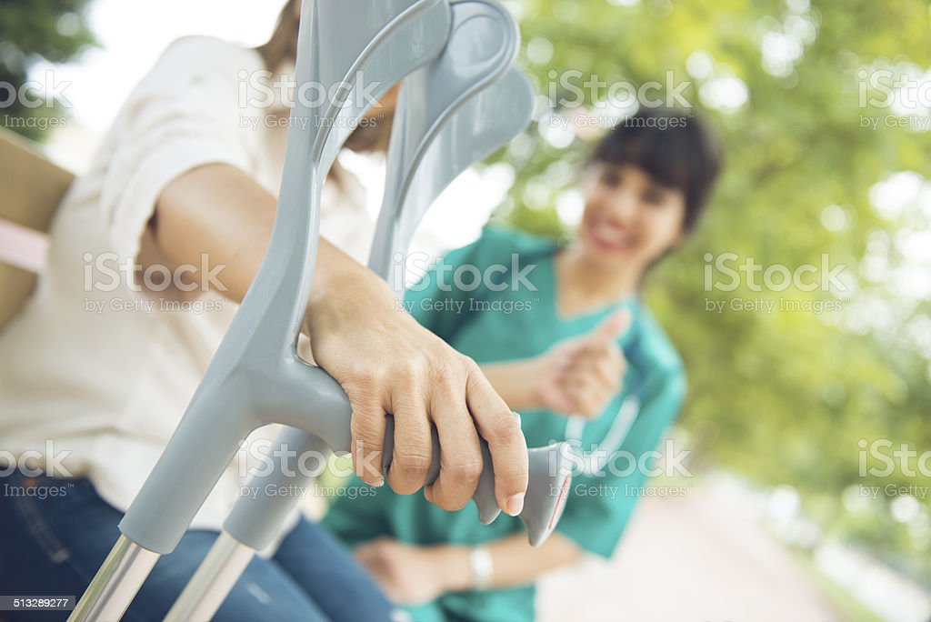 disability support stock photo