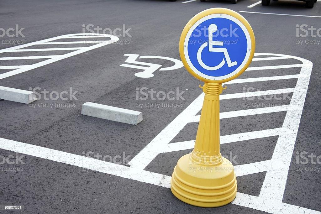 Barrierefreie Fahrer nur Lizenzfreies stock-foto