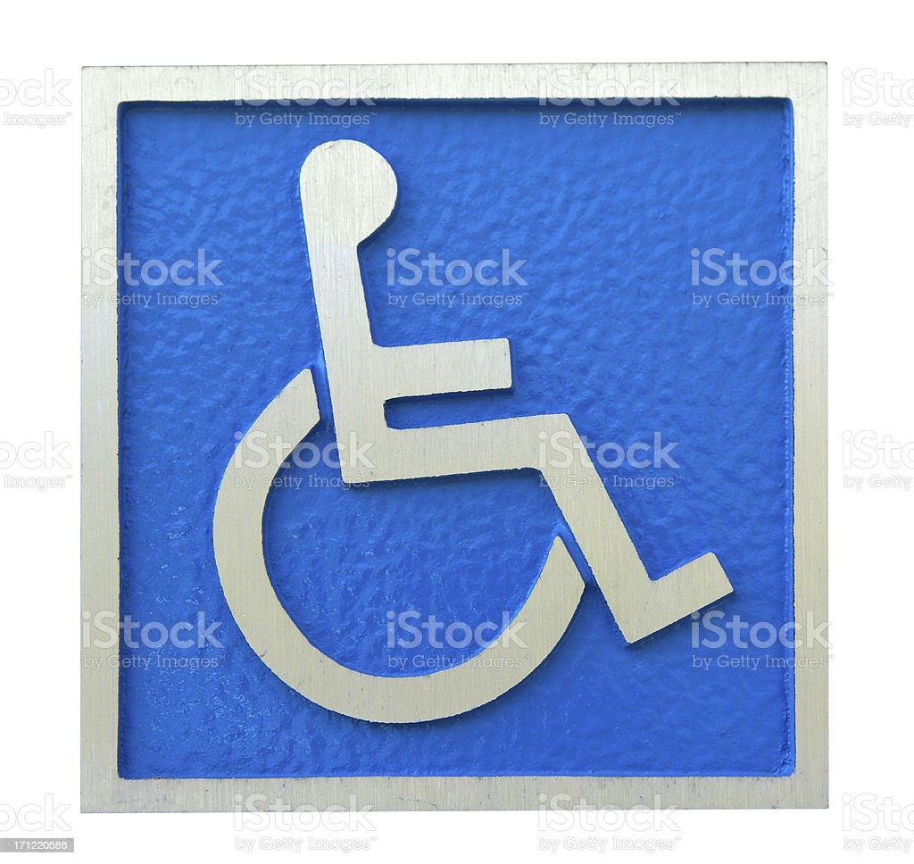 Disabled Icon royalty-free stock photo