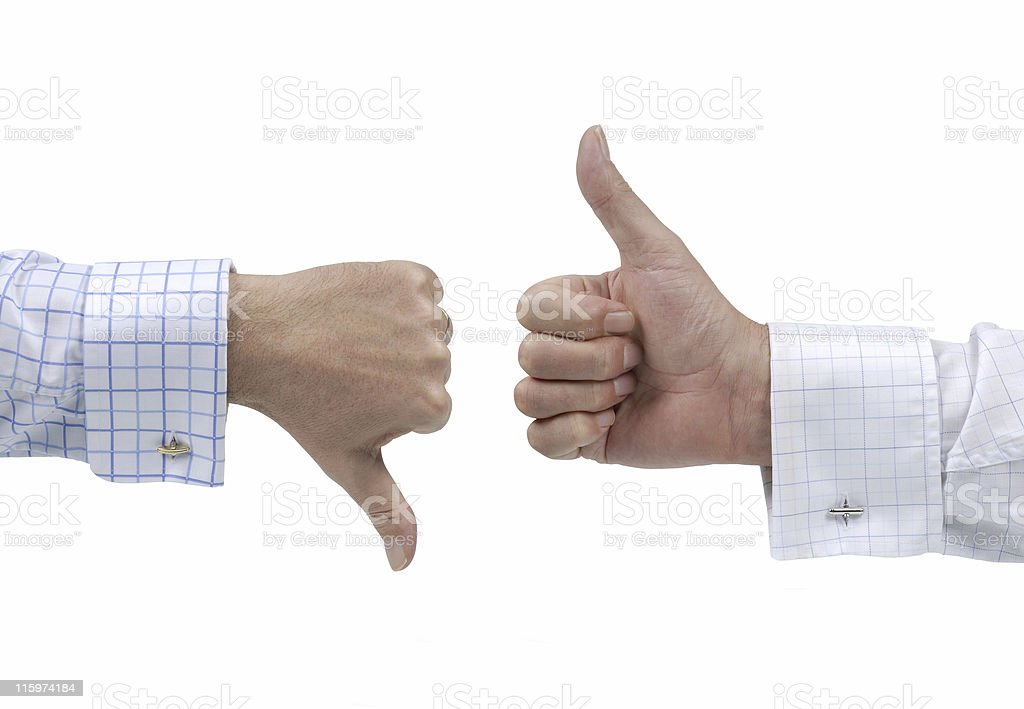 Disagreement stock photo