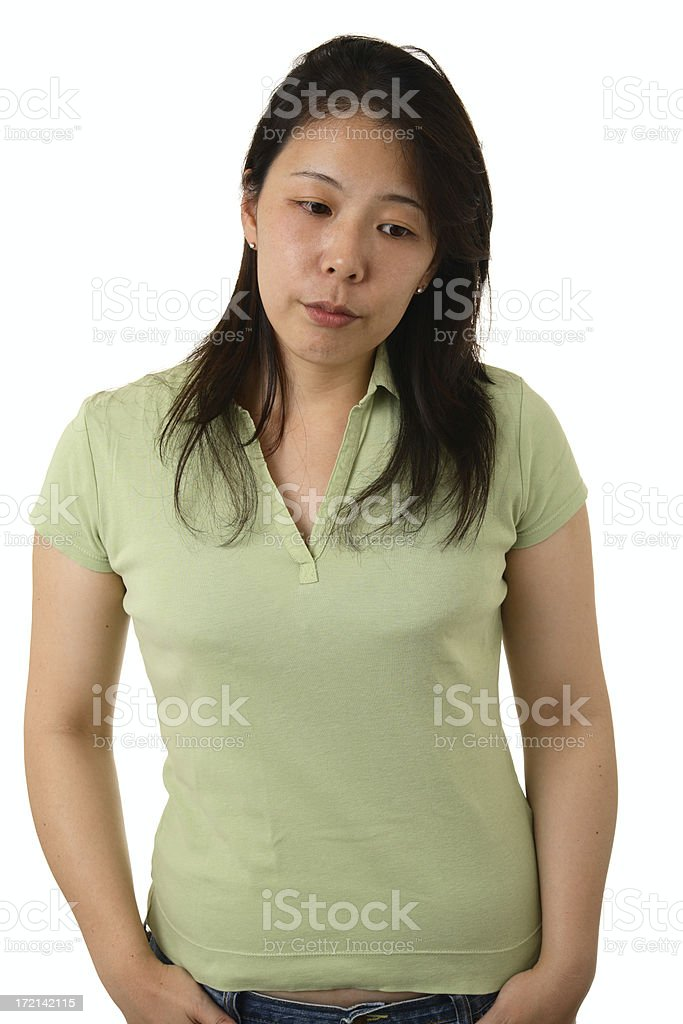 Disappointed stock photo