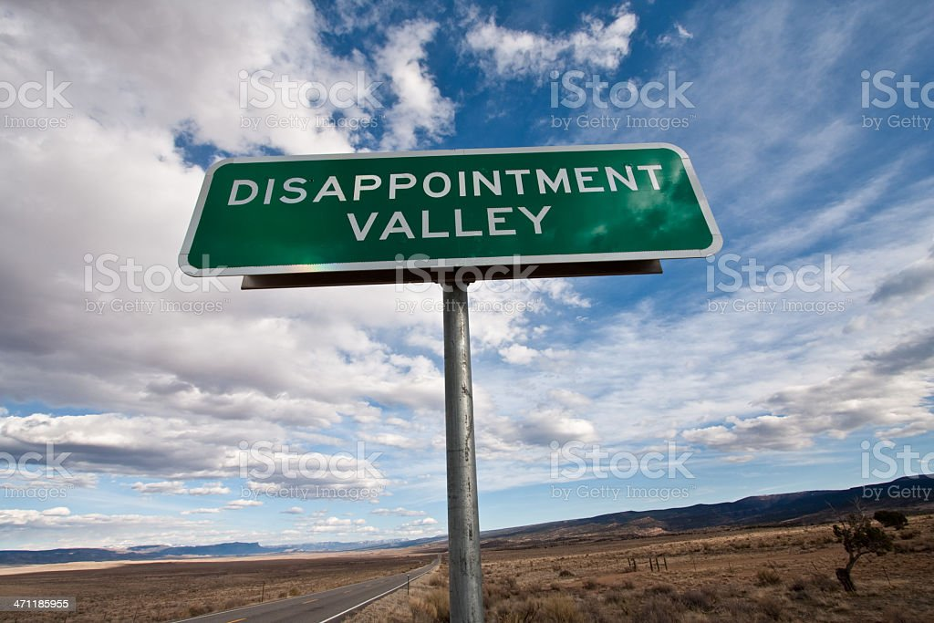 Disappointment Series royalty-free stock photo