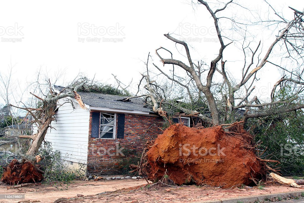 Disaster royalty-free stock photo