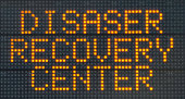 Disaster Recovery Center Sign