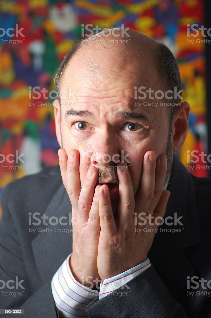 Disbelief royalty-free stock photo