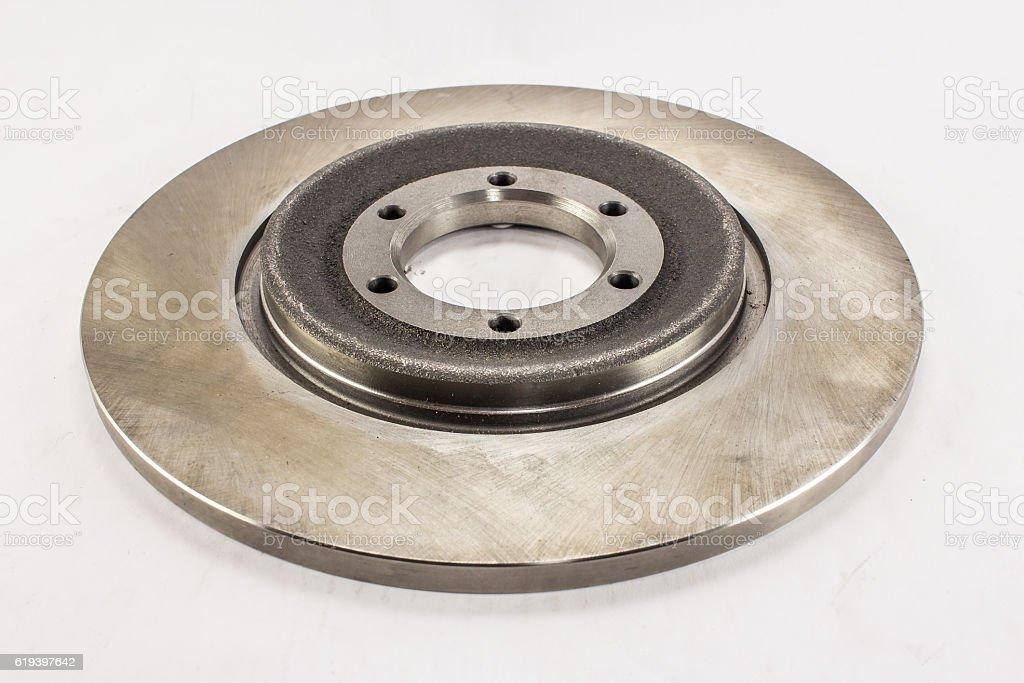 Disc brake stock photo