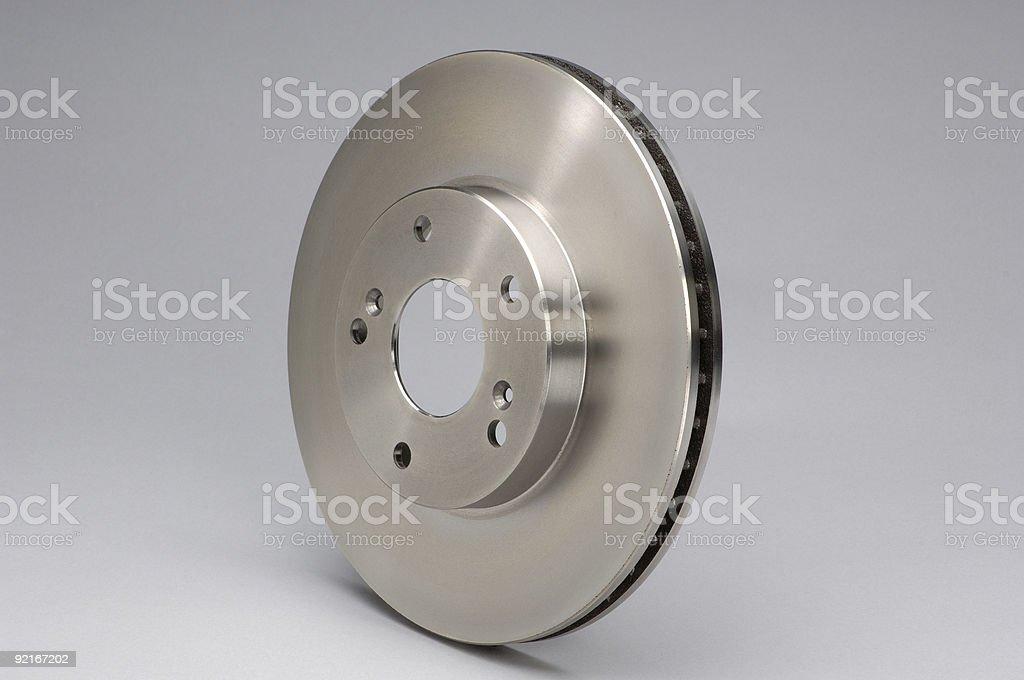 Disc Brake Rotor stock photo