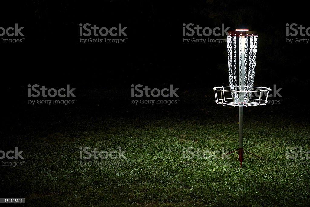 Disc Golf Target stock photo