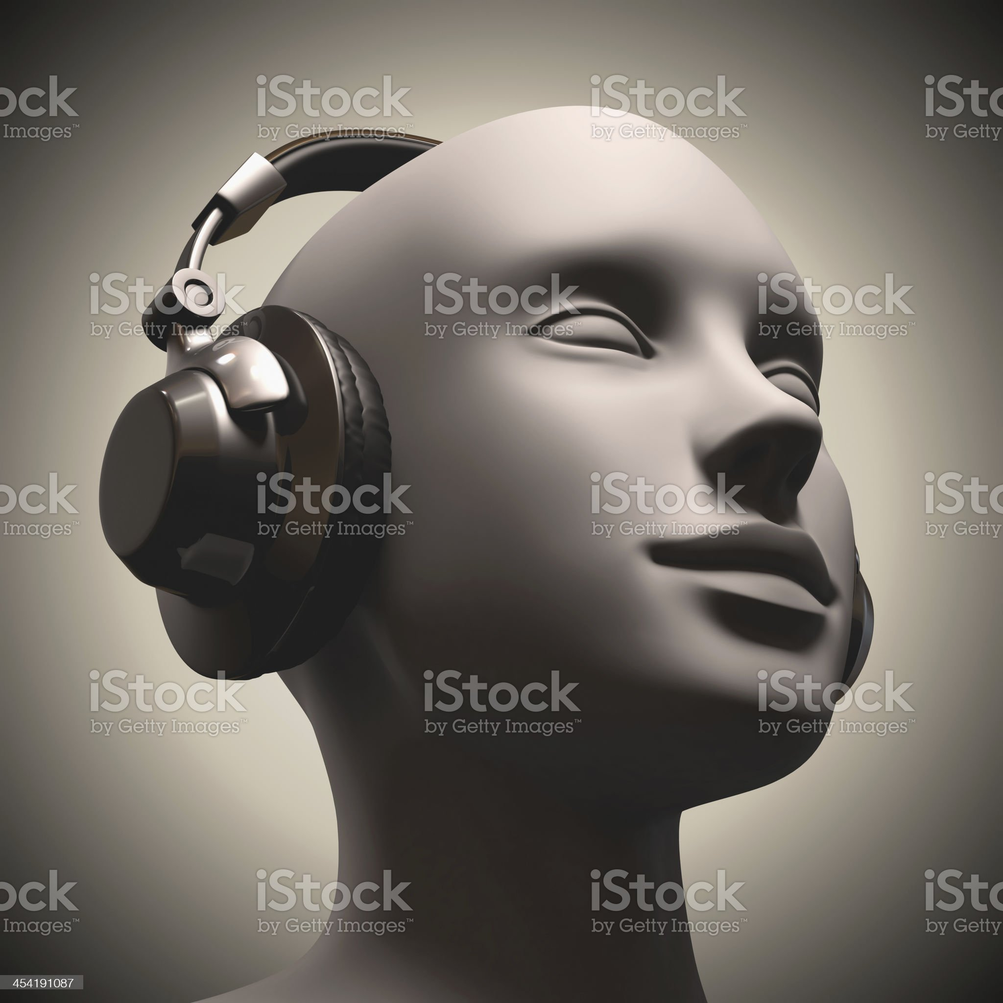 Disc Jockey royalty-free stock photo