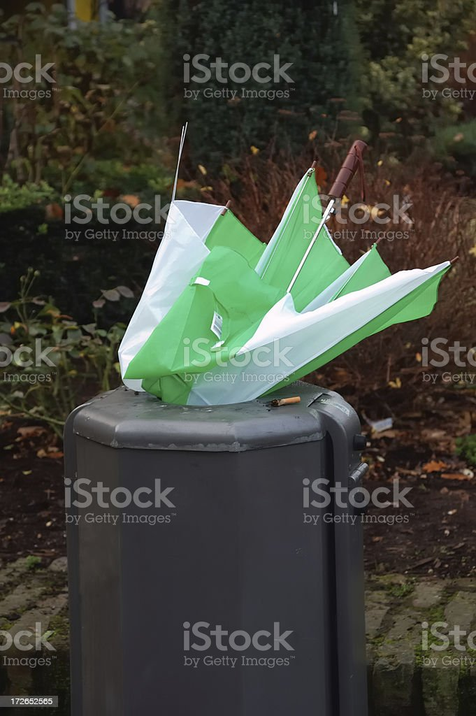 discarded stock photo