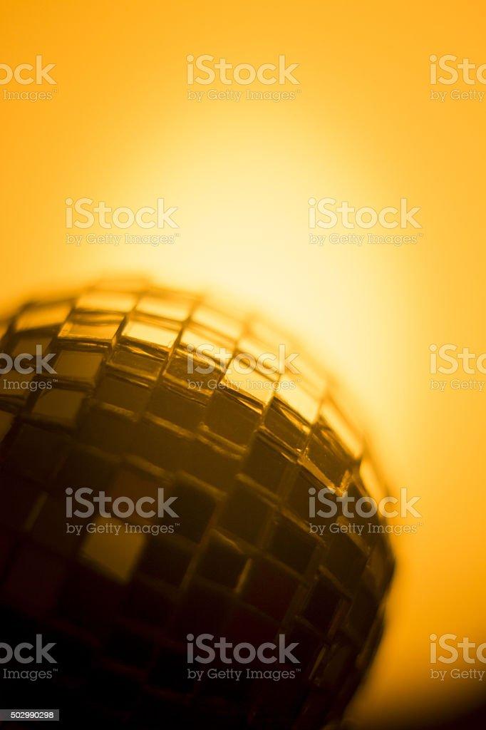 Disco ball in party nightclub stock photo