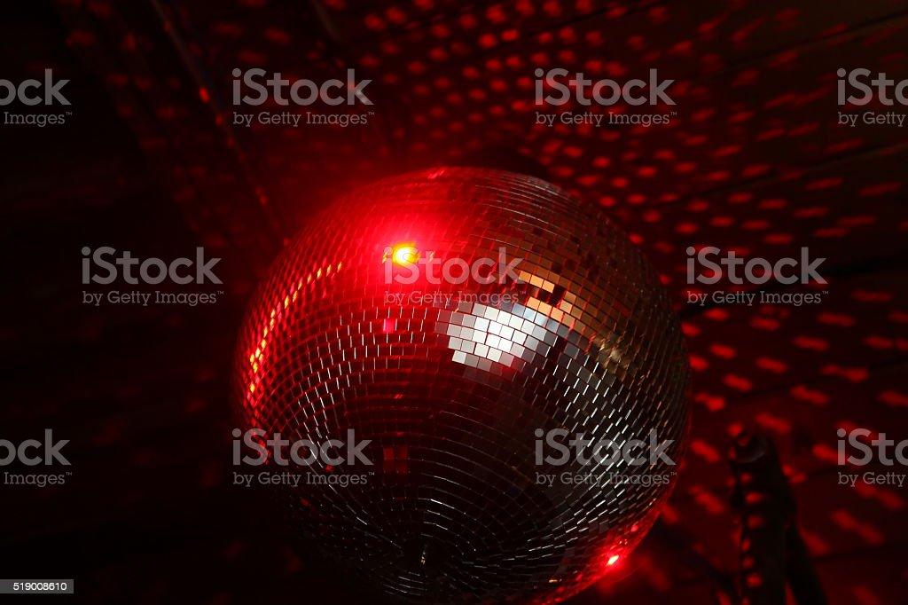 Disco Ball Mirror Ball stock photo