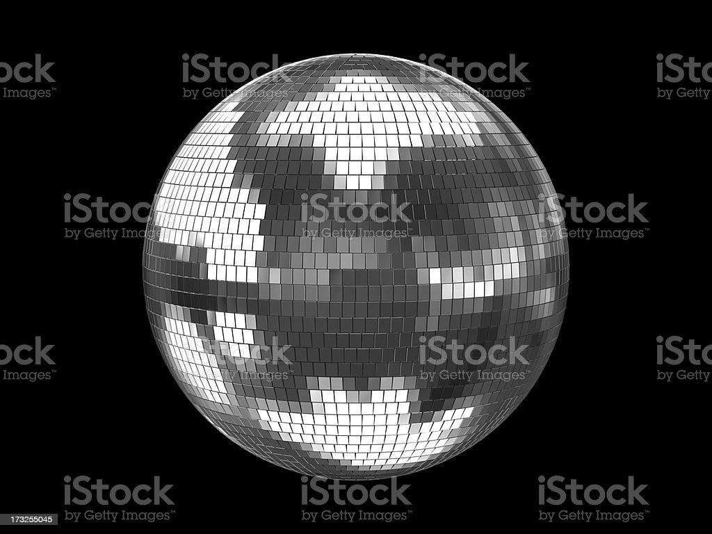 Disco Ball Silver royalty-free stock photo