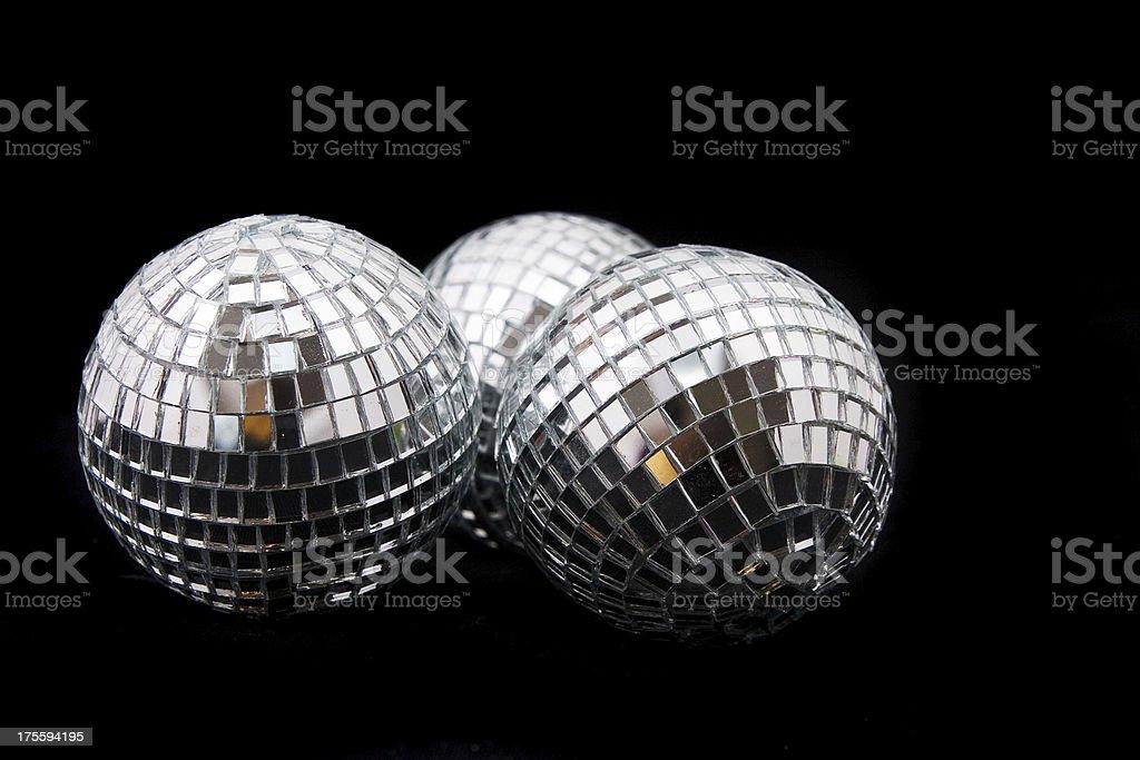 Disco balls royalty-free stock photo