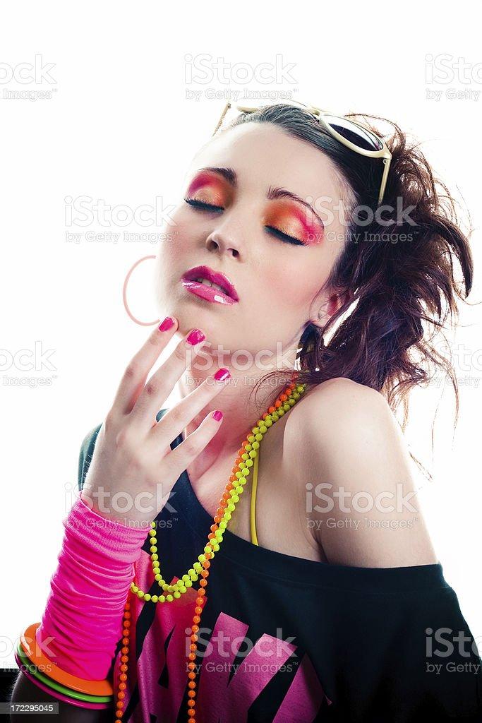 Disco Beauty royalty-free stock photo