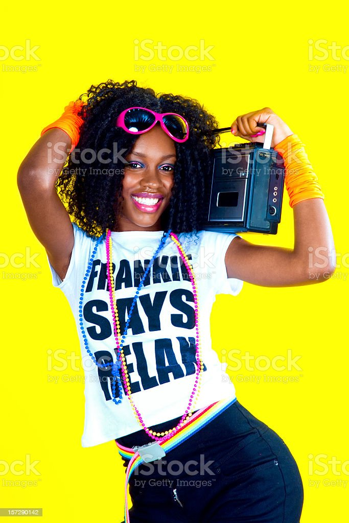 Disco Chick royalty-free stock photo