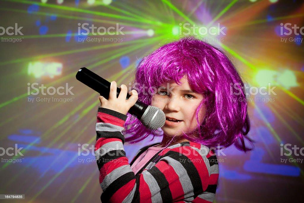 Disco children royalty-free stock photo