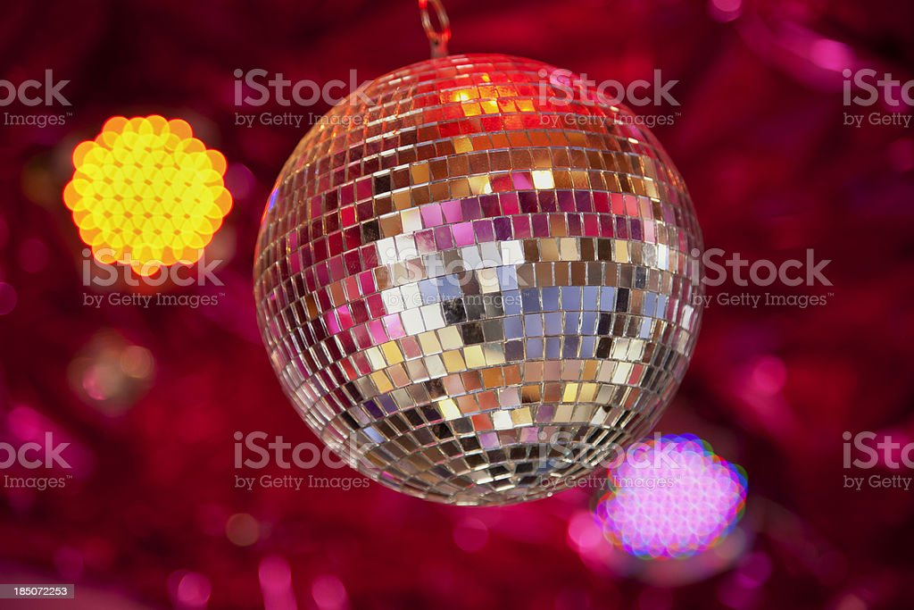Disco club stock photo