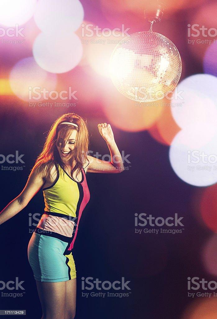 Disco Dancer stock photo