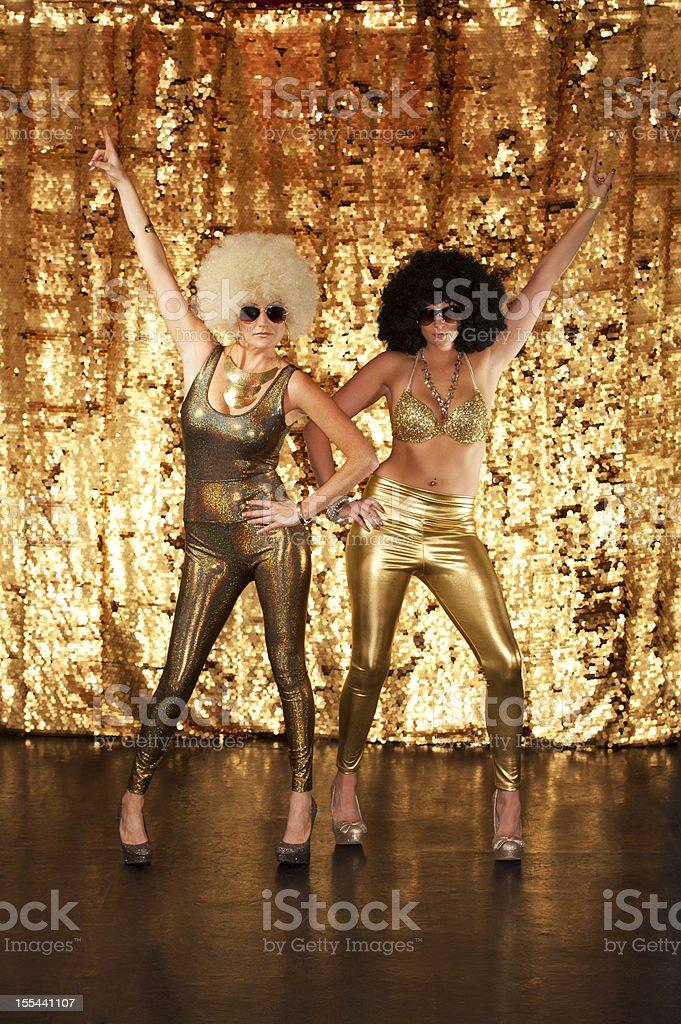 Disco Dancers stock photo