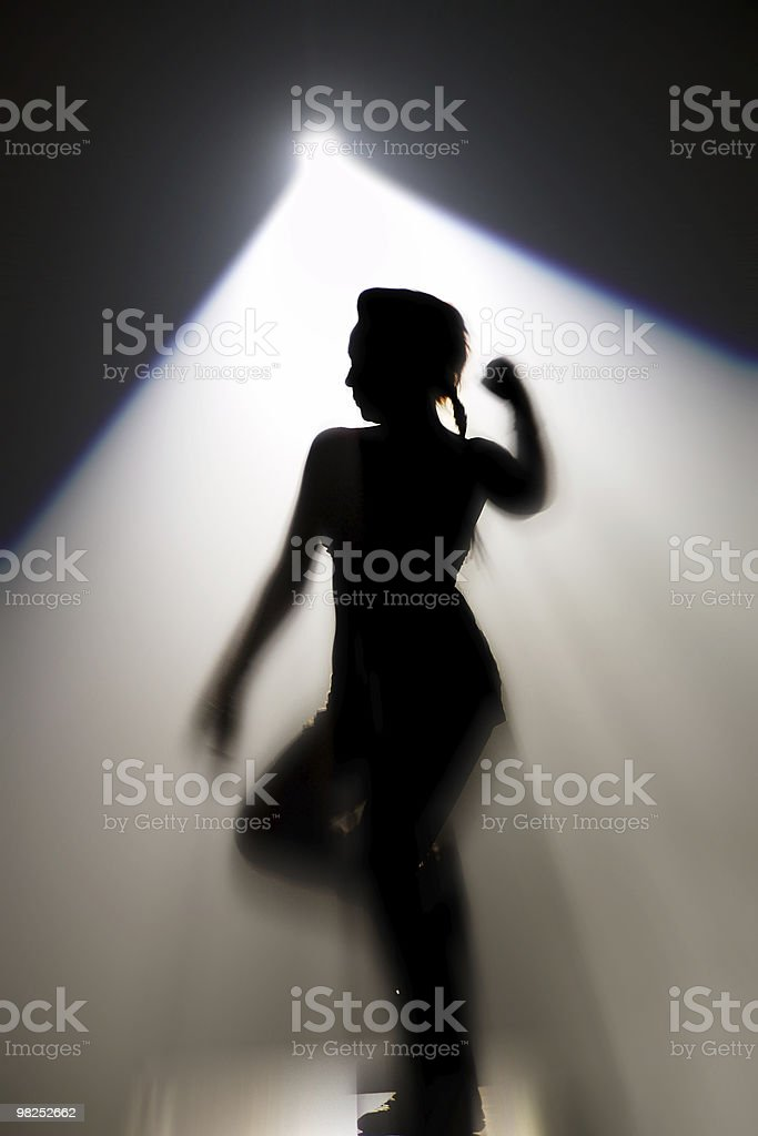 disco danser stock photo