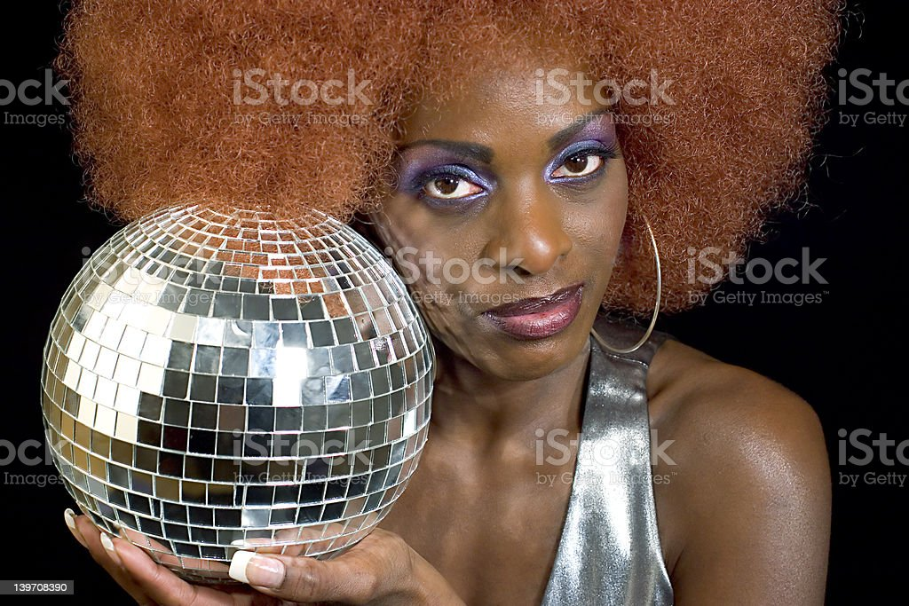Disco Diva 3 royalty-free stock photo