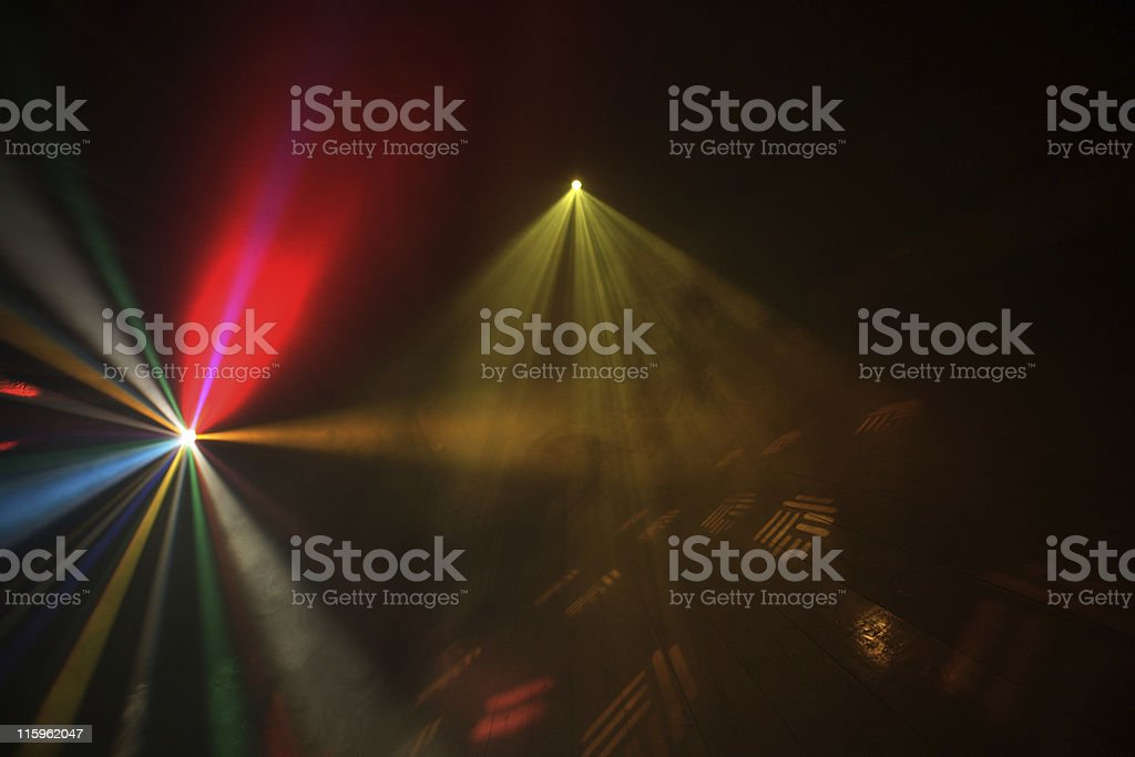 Disco Lights royalty-free stock photo