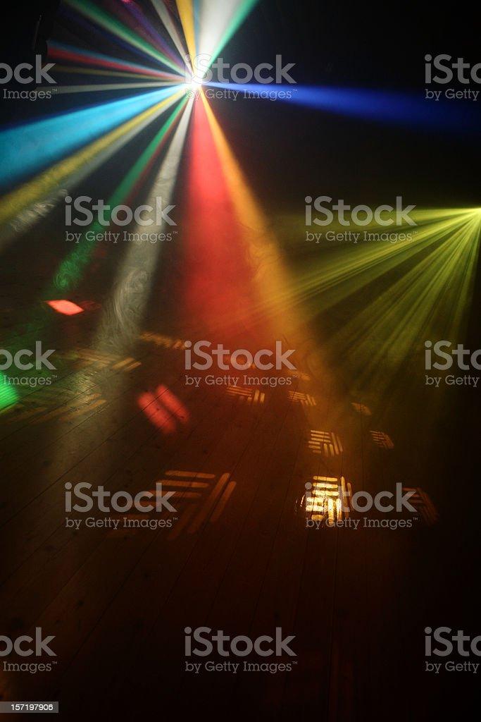 Disco Lights royalty-free stock photo