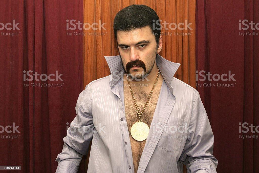 Disco Man royalty-free stock photo