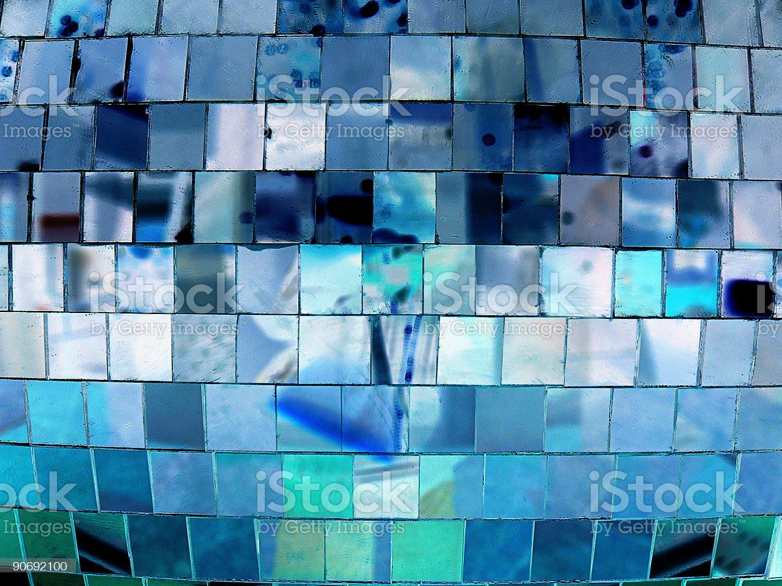Disco Mirror Ball royalty-free stock photo