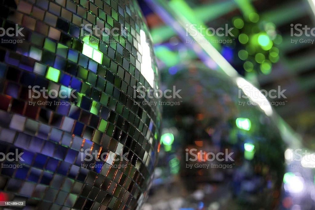 Disco Mirror Balls royalty-free stock photo