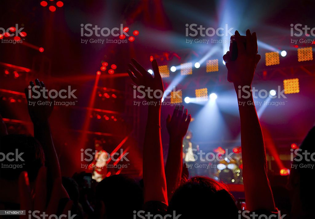 Disco party concert royalty-free stock photo