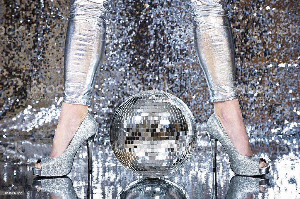 Disco time royalty-free stock photo