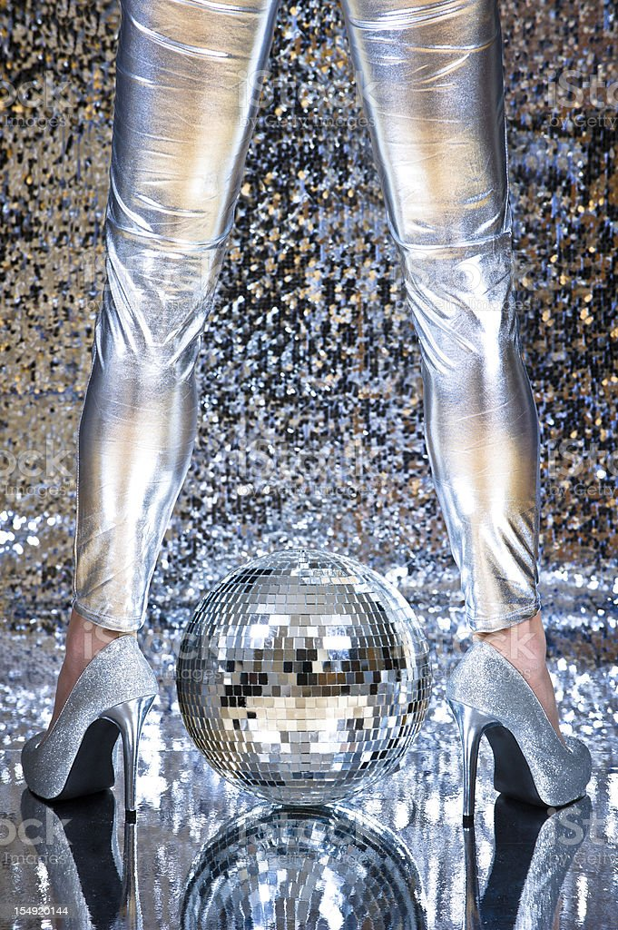 Disco time royalty-free stock photo