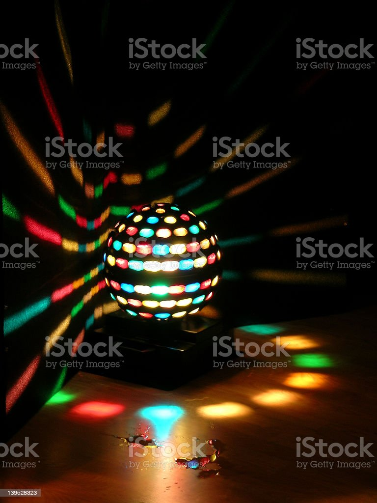 Discoball royalty-free stock photo