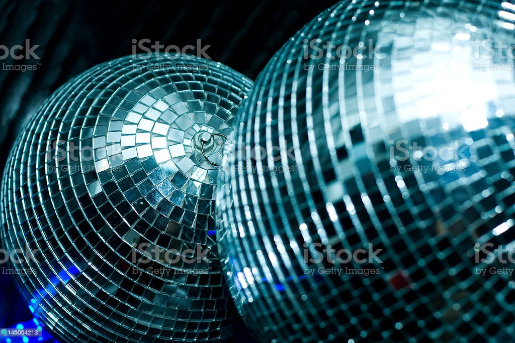 discoballs royalty-free stock photo