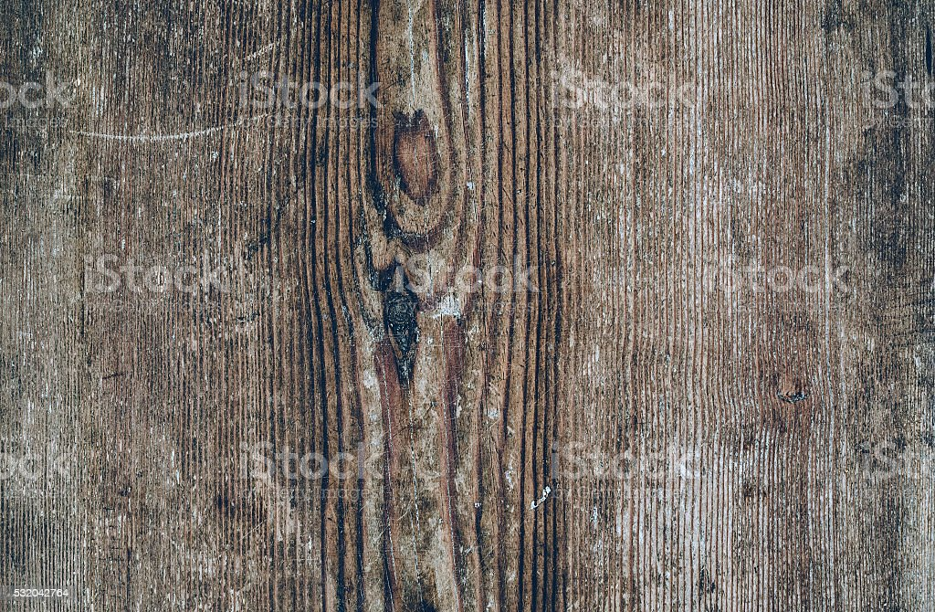 Discolored wooden texture. Vintage rustic style. Natural surface, background and stock photo