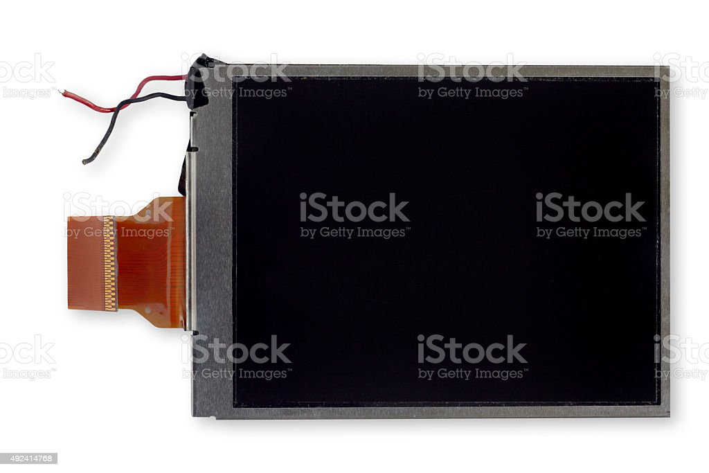 Disconnected display stock photo