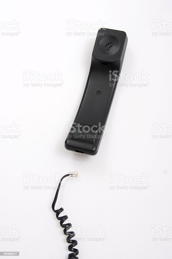 Disconnected stock photo