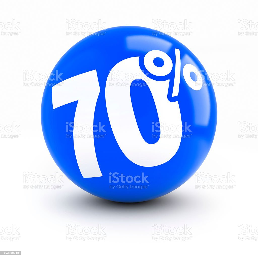 70% discount blue ball stock photo