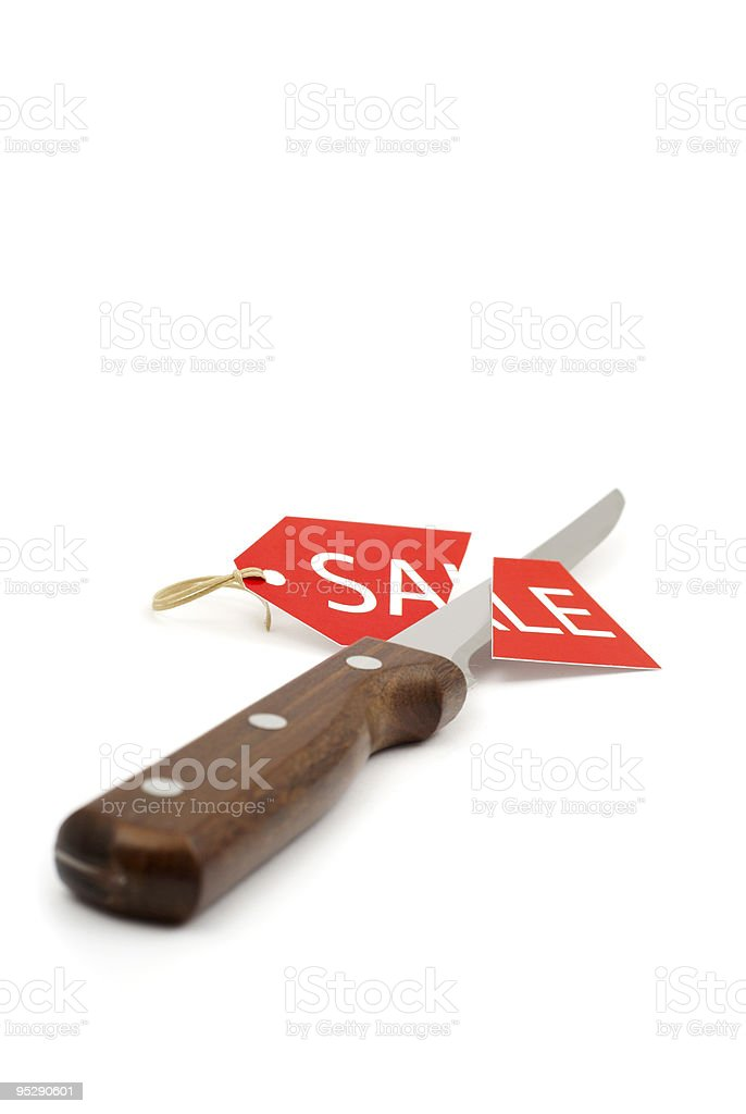Discount in the kitchen royalty-free stock photo