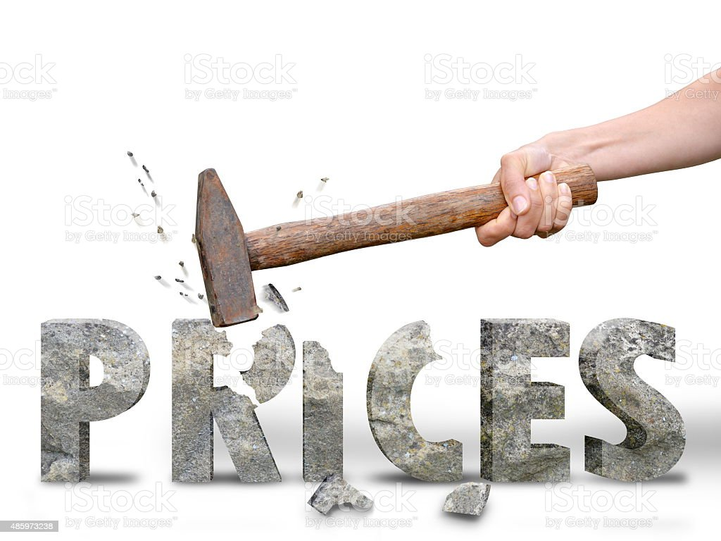 discount on price tag stock photo
