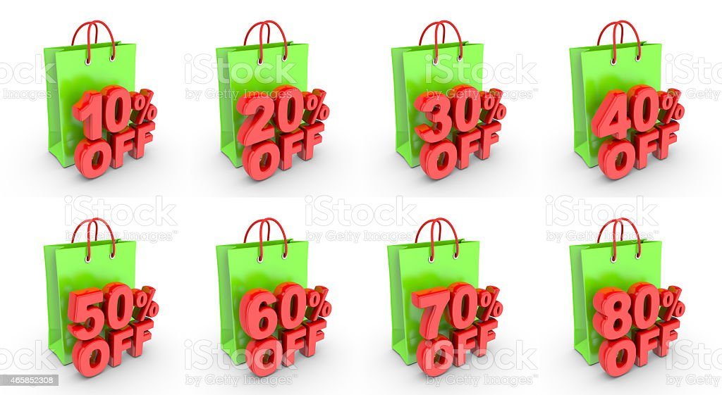 Discount on purchase. royalty-free stock vector art