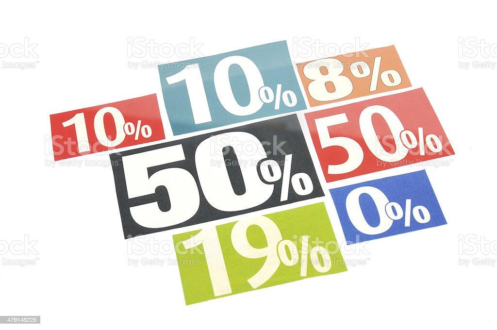 Discount stock photo