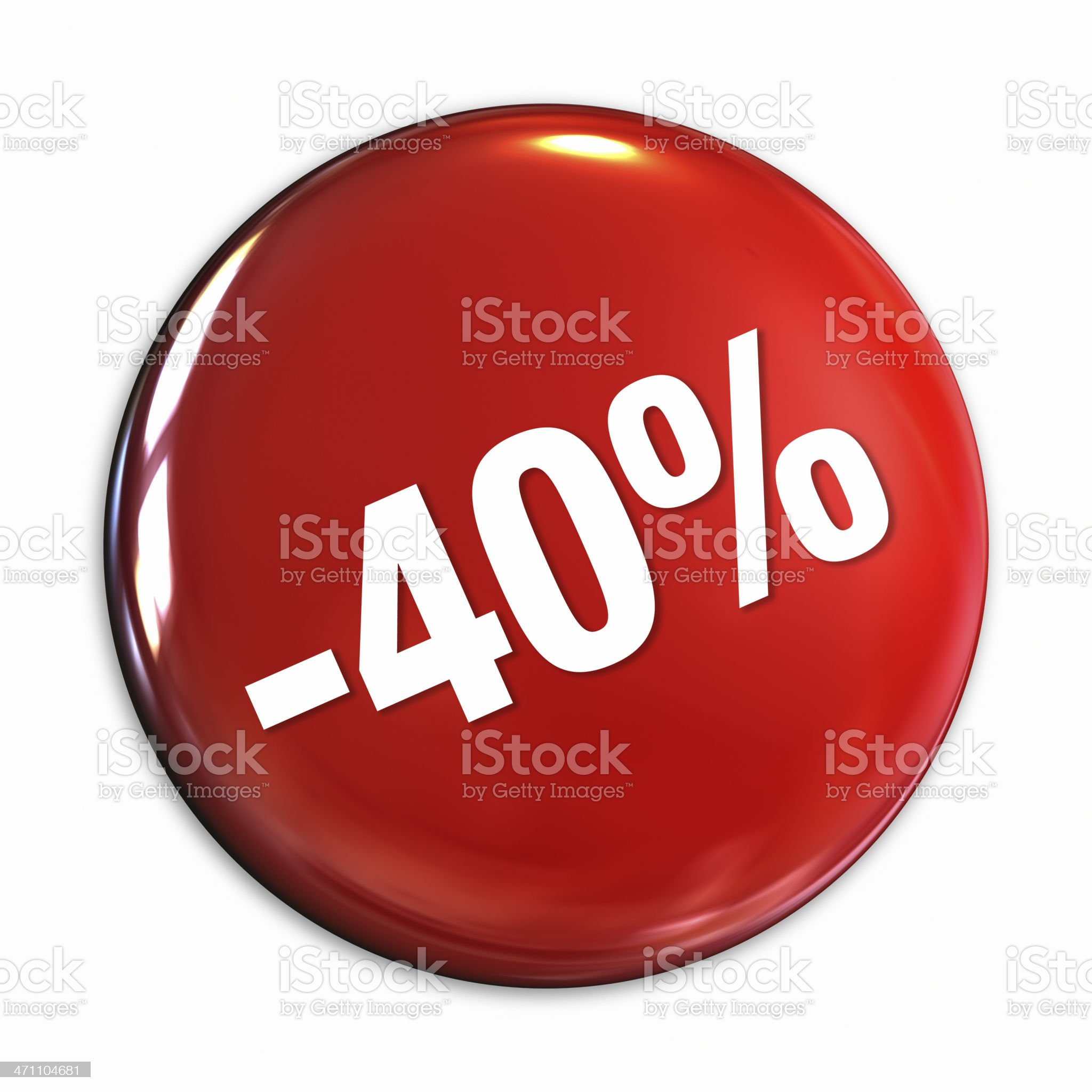Discount Series badge royalty-free stock photo