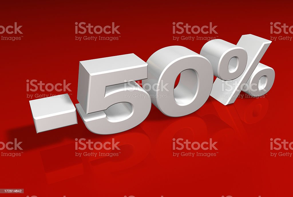 Discount Series royalty-free stock photo
