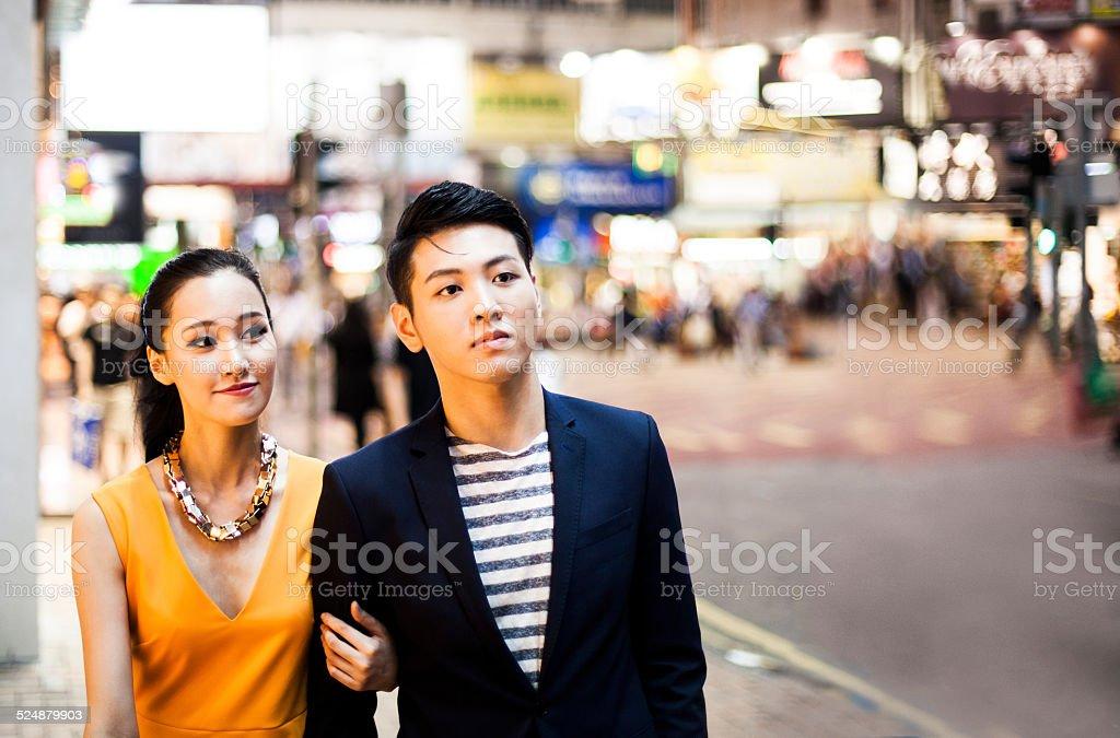 Discover Hong Kong stock photo