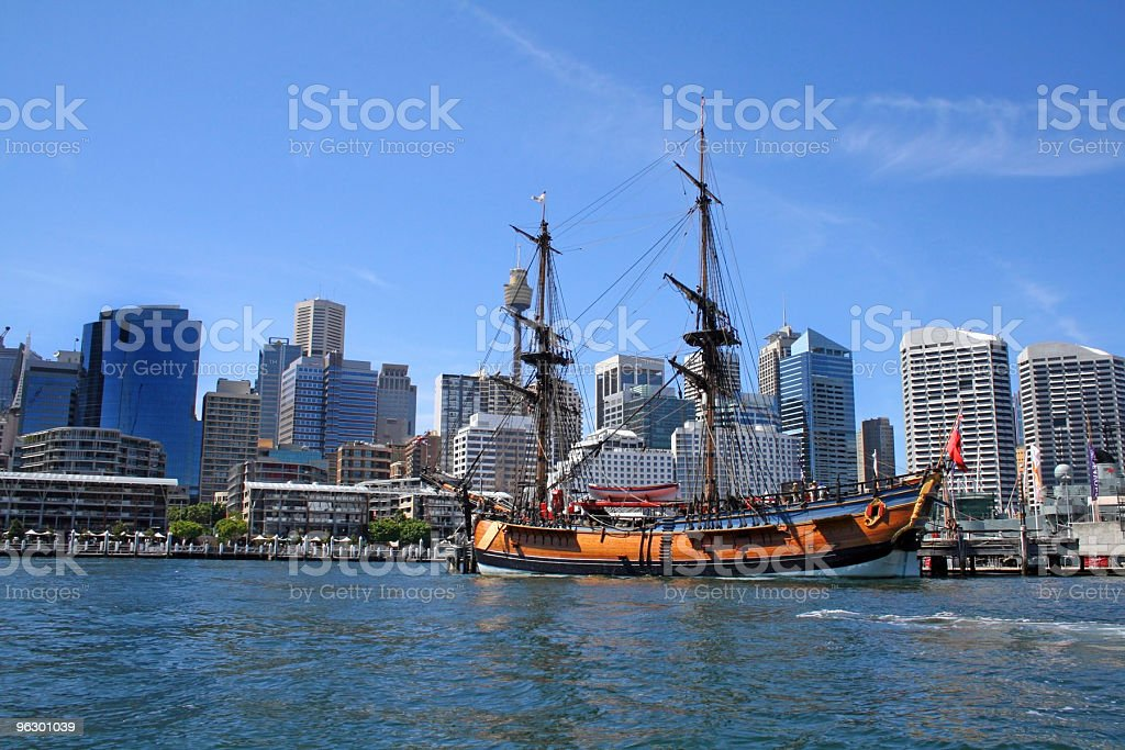 Discovering Australia, Darling Harbour, Sydney stock photo